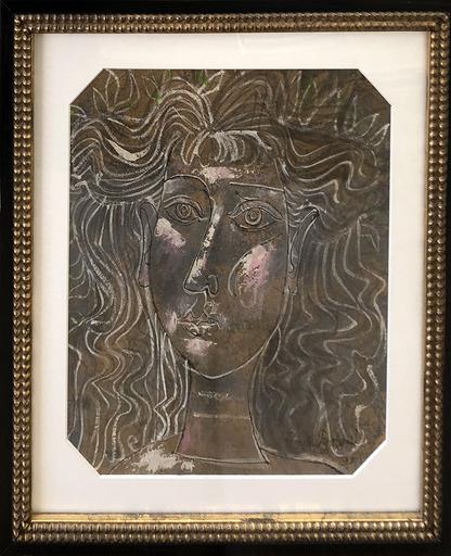 Byron George BROWNE - Pittura - Portrait