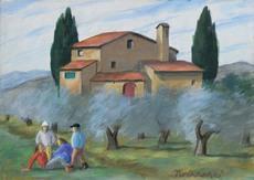 Nino Giovanni TIRINNANZI - Pintura - Senza titolo