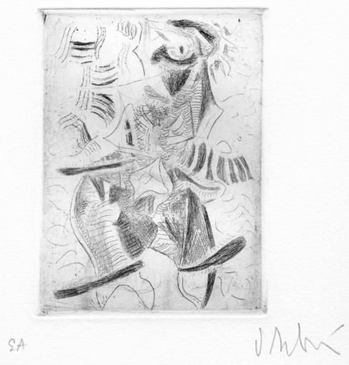 Olivier DEBRÉ - Print-Multiple - GRAVURE SIGNÉE AU CRAYON ANNOTÉE EA HANDSIGNED EA ETCHING