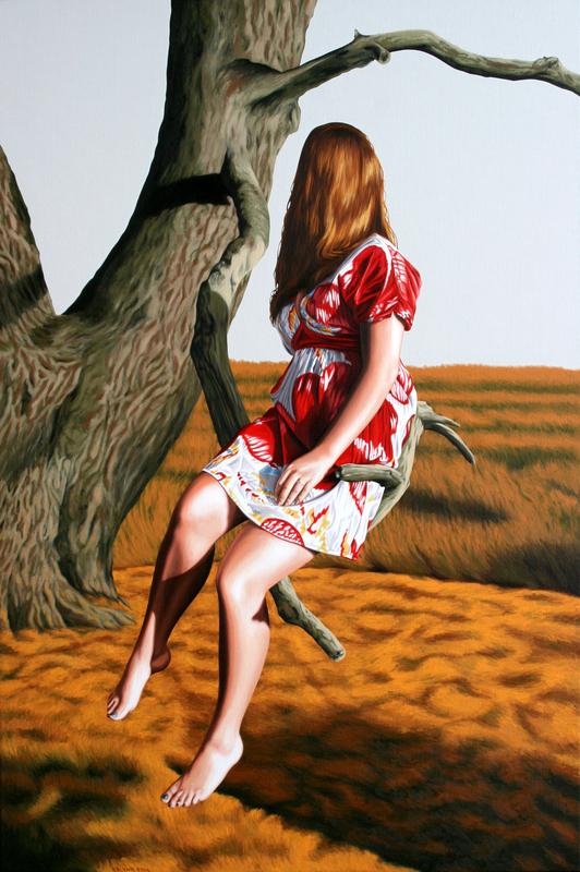 Erlend STEINER LOVISA - Painting - Anne-Margot 2 (Dryaden)    (Cat N° 4543)
