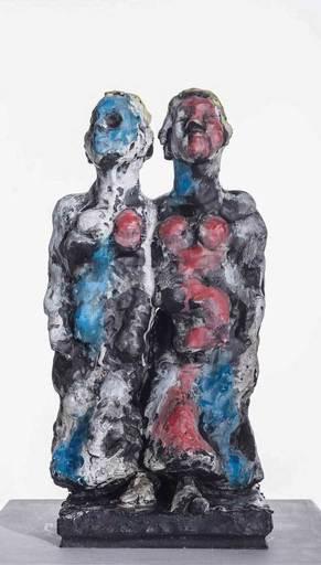Markus LÜPERTZ - Escultura - Zwilling - Gemini