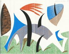 David HOCKNEY - Print-Multiple - Celebration