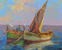 Alexandre ISAILOFF - Pintura - Seascape