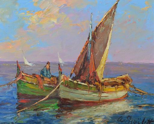 Alexandre ISAILOFF - Painting - Seascape