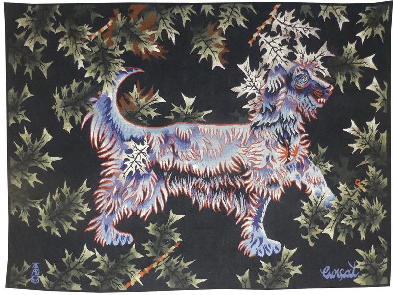 Jean LURÇAT - Tapestry - le petit basset
