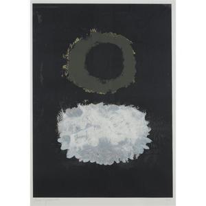 Adolph GOTTLIEB - Estampe-Multiple - Black Field