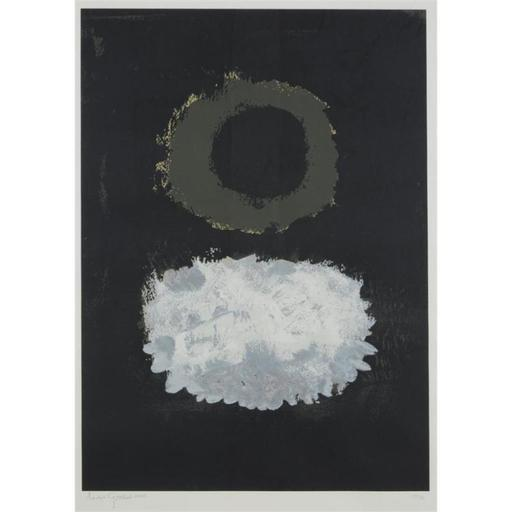 Adolph GOTTLIEB - Stampa-Multiplo - Black Field