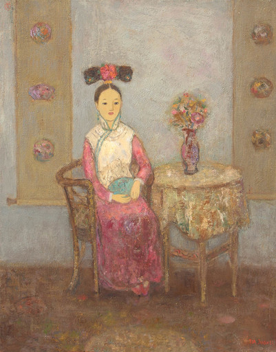 JIA Juanli - Pintura - Princesse Ying Hang
