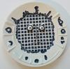 Pablo PICASSO - Ceramic - Visage à la grille