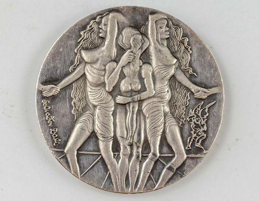 Salvador DALI - Sculpture-Volume - Peace