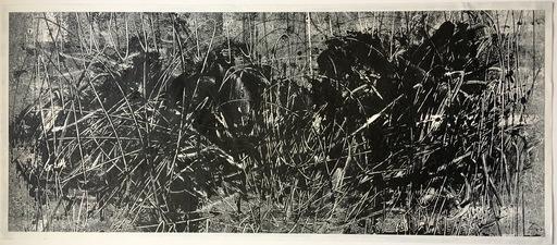 Gunther GUMPERT - Disegno Acquarello - Untitled #17.
