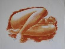 Antoniucci VOLTI - Grabado - LITHOGRAPHIE SIGNÉ CRAYON NUM/150 HANDSIGNED NUMB LITHOGRAPH