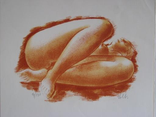 Antoniucci VOLTI - Print-Multiple - LITHOGRAPHIE SIGNÉ CRAYON NUM/150 HANDSIGNED NUMB LITHOGRAPH