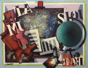 Claude VENARD - Painting - La Mi Sol
