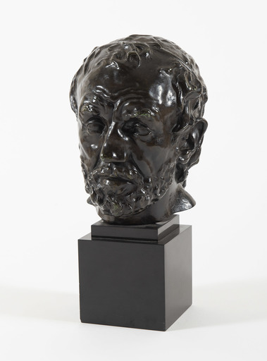 奥古斯特•罗丹 - 雕塑 - L'homme au nez cassé