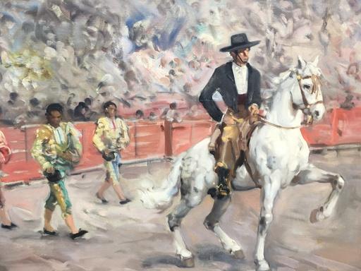 Francisco RODRÍGUEZ CLEMENT - Gemälde - Toreros