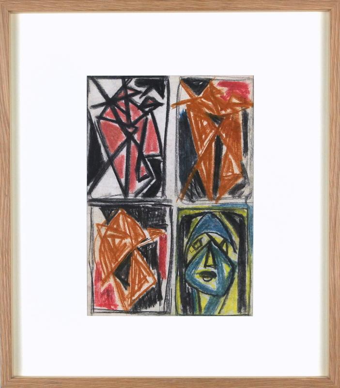 Aurélie NEMOURS - Drawing-Watercolor - Sans titre - F04