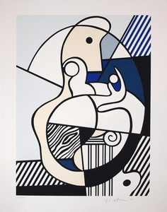 Roy LICHTENSTEIN, Untitled (Bonjour Max Ernst)