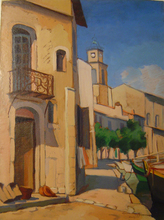 Louis SUIRE - Painting - Martigues
