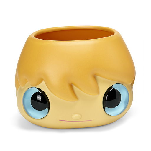 Javier CALLEJA - Ceramic - Pot-Pop-Top Planter Pot (blue eyes)