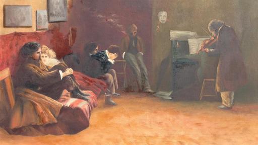Lionello BALESTRIERI - Painting - SONATE DE BETHOVEN