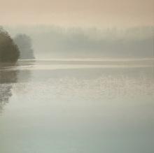 Benoît TRIMBORN - Pintura - Etang au brouillard
