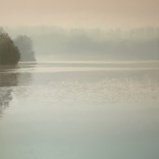 Benoît TRIMBORN - Peinture - Etang au brouillard