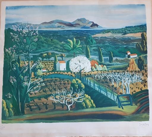 莫依斯·基斯林 - 版画 - Landscape in Provance