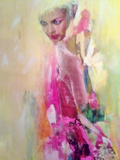 Marie NEIGE - Peinture - sur mon âme et les fleurs