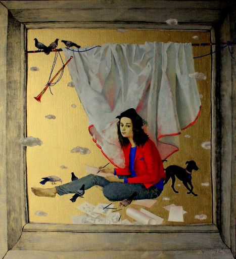 Tatjana PALCUKA - Painting - Lucas I    (Cat N° 6094)