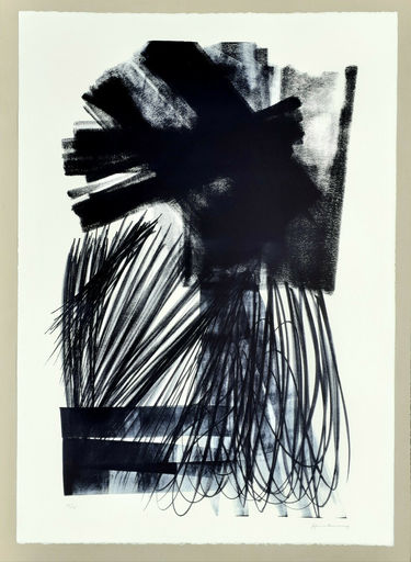 Hans HARTUNG - Estampe-Multiple - L-17-1973