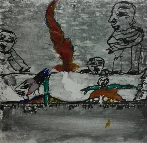 RAMON - Dibujo Acuarela - SANS TITRE