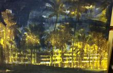 Enoc PEREZ - Grabado - Dorado Hilton, Puerto Rico