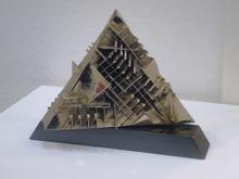 Arnaldo POMODORO - Escultura - Piramide