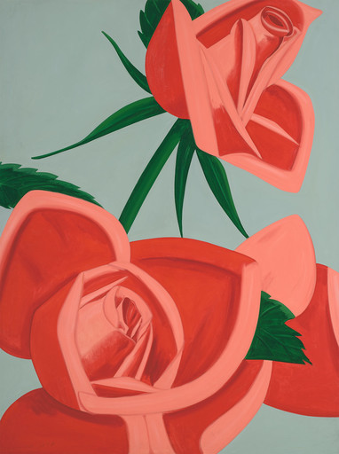 Alex KATZ - Print-Multiple - Rosebud