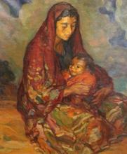 Joan CARDONA LLADOS - Pintura - Maternidad