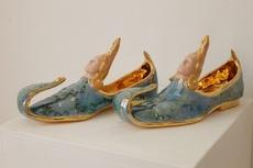 Luigi ONTANI - Ceramic - Orientale