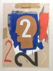 Mimmo PALADINO - Print-Multiple - California Suite #3