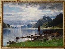 Adelsteen NORMANN - Pintura - Fjord