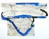 Tony SOULIÉ - Pintura - Abstraction Blue grey bull