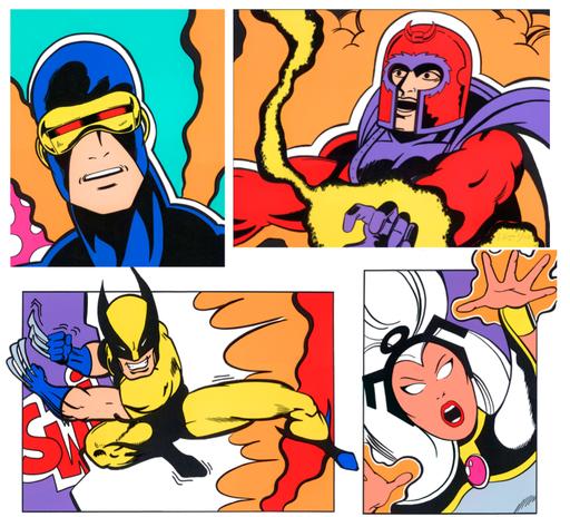 CRASH - Grabado - X-Men Portfolio