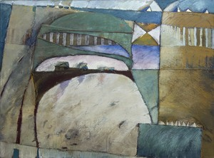 Dominique SARRAZIN - Painting - Site No 01