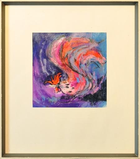 Nag ARNOLDI - Pintura - Gallo