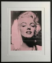 Russell YOUNG - Grabado - Marilyn Portrait Portfolio, rosé
