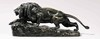 Isidore Jules BONHEUR - Sculpture-Volume - Lion and Lioness