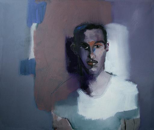 Klaus Karl MEHRKENS - Painting - Gesicht I