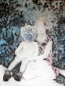 Lyudmyla RAZBITSKAYA - Drawing-Watercolor - Alice in Wonderland    (Cat N° 6478)