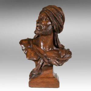 Wilhelm GIESECKE - Sculpture-Volume - Araber