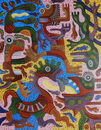KUSBUDIYANTO - Painting - Pandemic