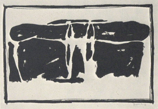 Joan HERNANDEZ PIJUAN - 版画 - Landscape 1